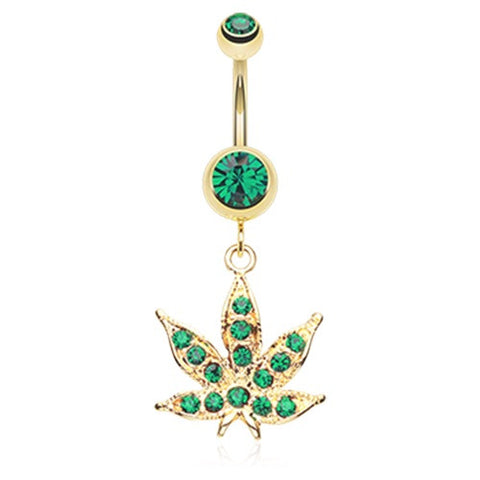Marijuana Body Jewellery
