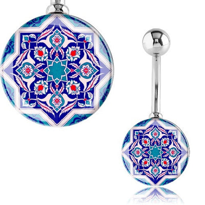Mandala Belly Rings