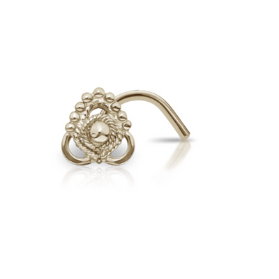 Ajna 14k Gold Nose Screw