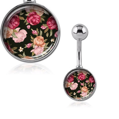 Flower Navel Piercing Jewellery