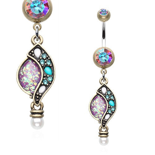Bella Bohemia Vintage Journey Belly Ring