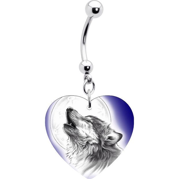 Lone Wolf Handcrafted Dangle Belly Bar
