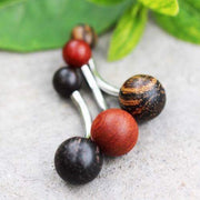 Wood Belly Rings