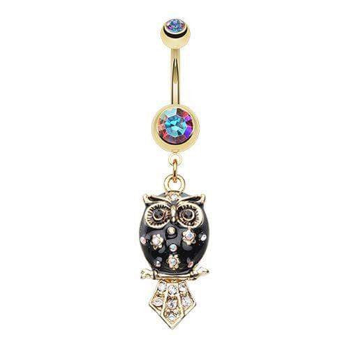The Midnight Wisdom Owl Belly Bar