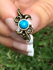 Golden Boho Tribal Daze Reverse Belly Ring