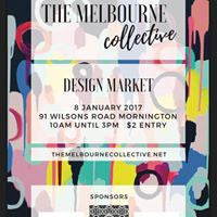 The Melbourne Collective Market featuring artist Rebecca Coulter