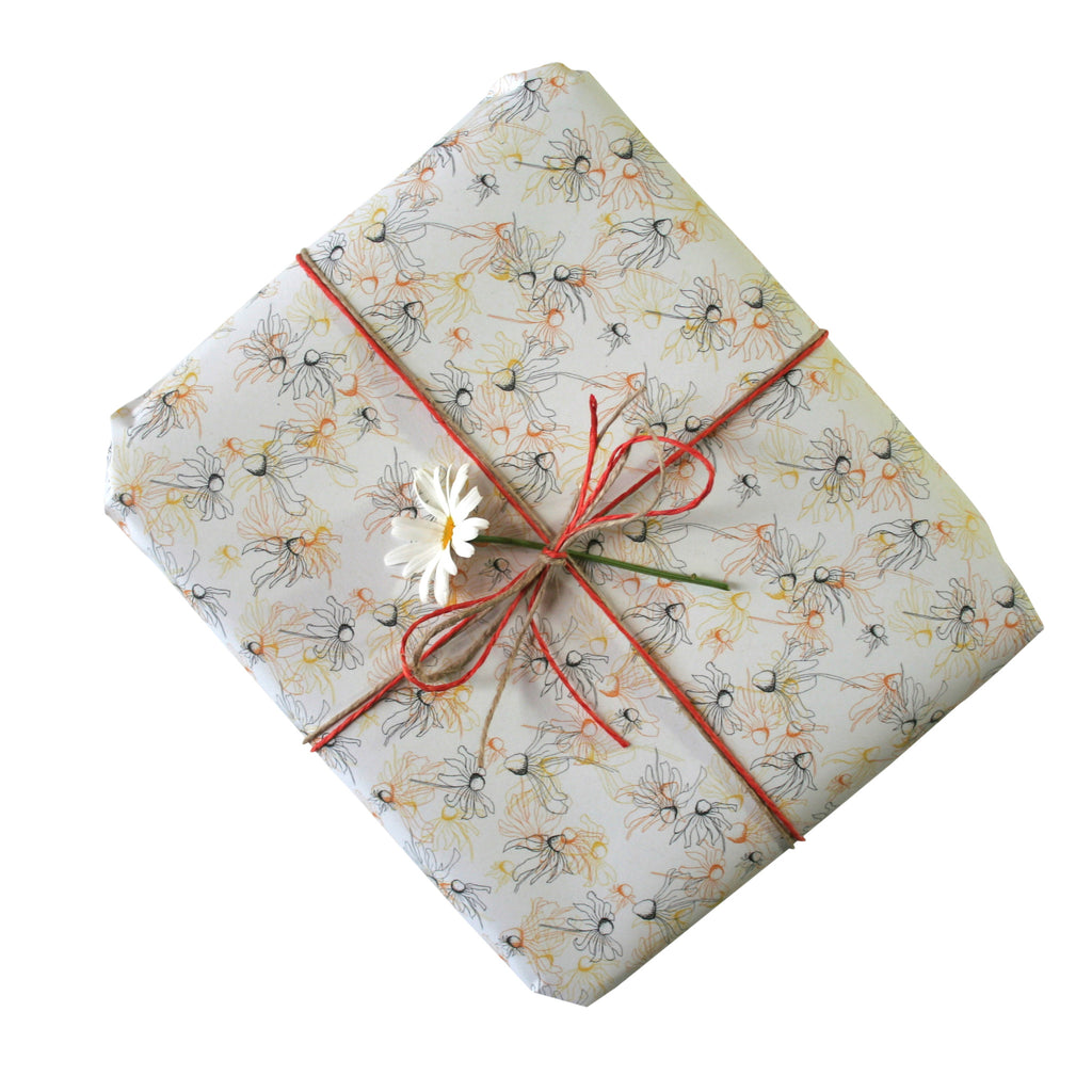 Black Eyed Susie Gift Wrapping Paper
