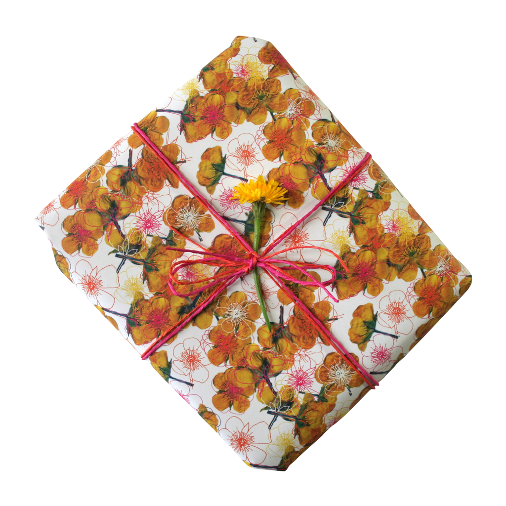 Buttercupped Gift Wrapping Paper