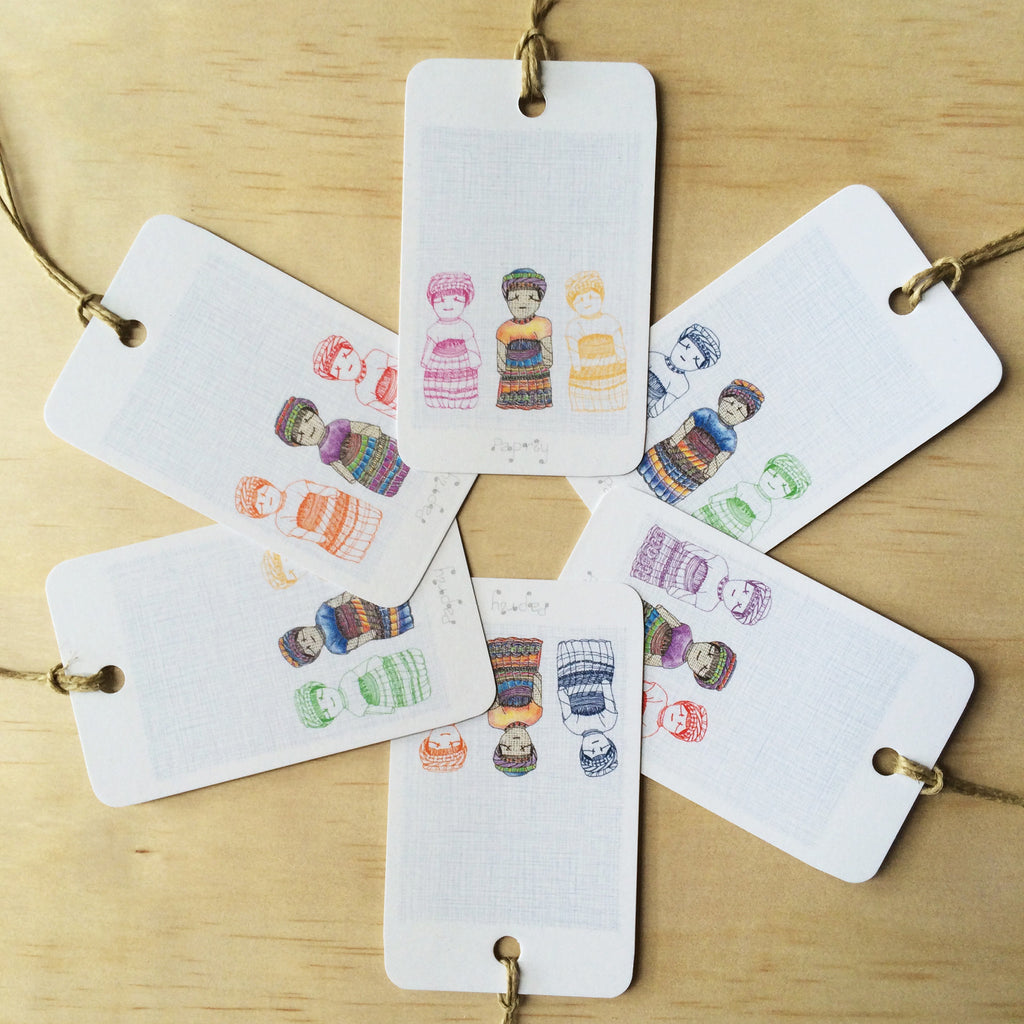 Don't Worry 6 Gift Tags
