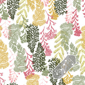 Fern Fan Wrapping Paper