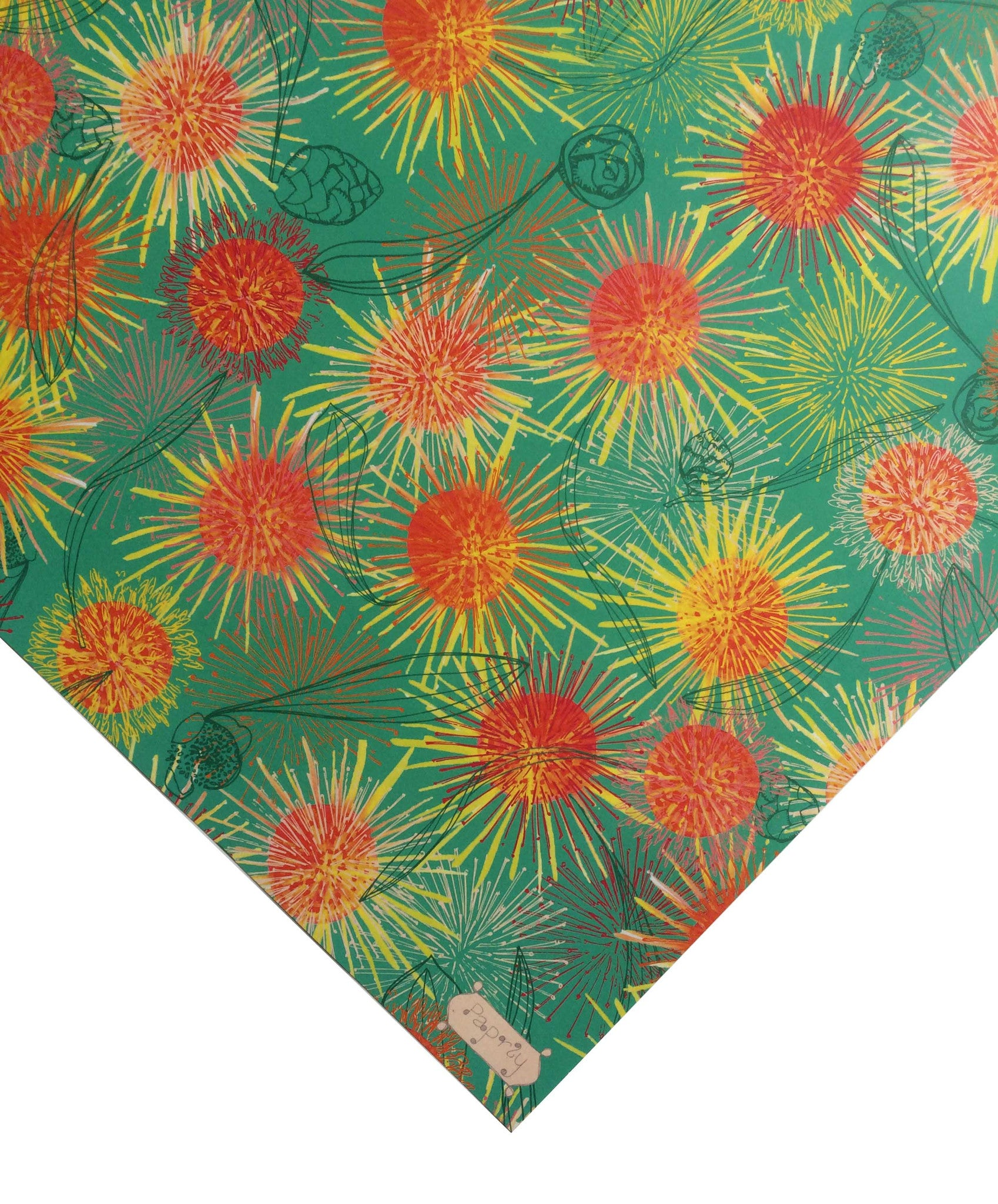 Hakea fireworks flower gift wrapping paper paprly hakea fireworks flower gift wrapping paper mightylinksfo