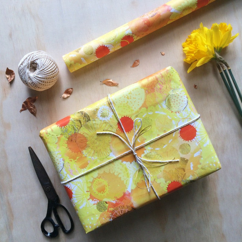 Celebration Gift Wrapping Paper