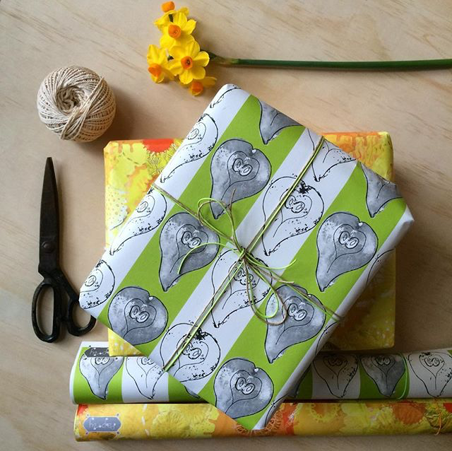 Pears Gift Wrapping Paper
