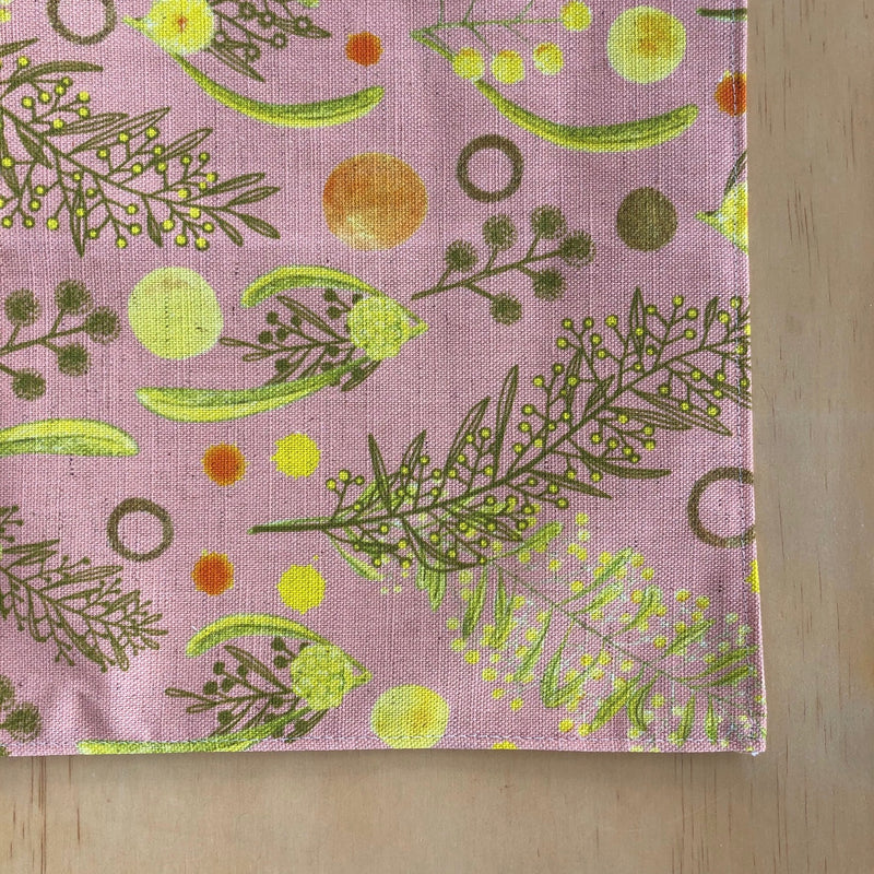Bush Wattle Tea Towel