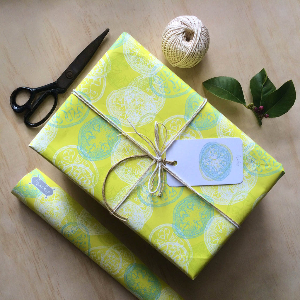 Feijoa Gift Wrapping Paper