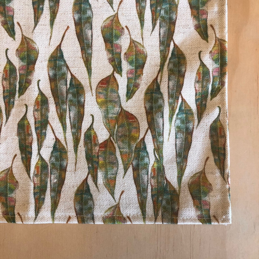 Gum Leaves Tea Towel