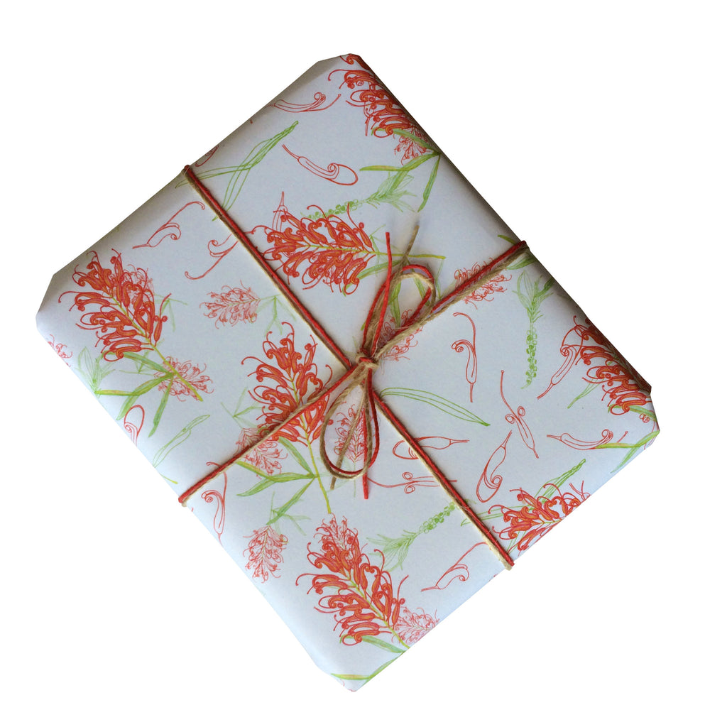 Grevillea Gift Wrapping Paper