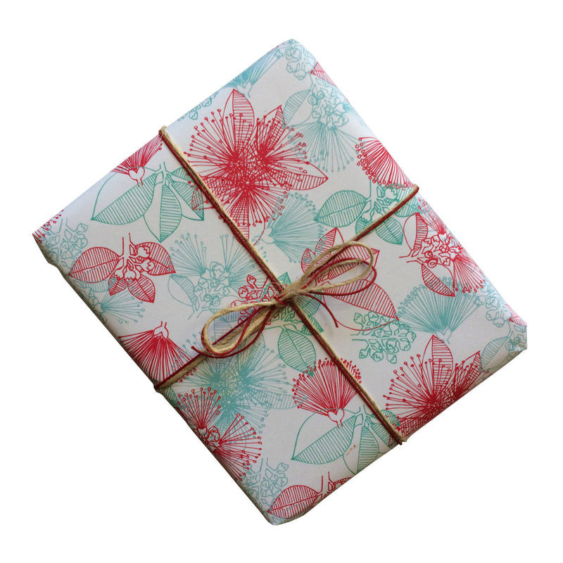 Christmas Bush Gift Wrapping Paper