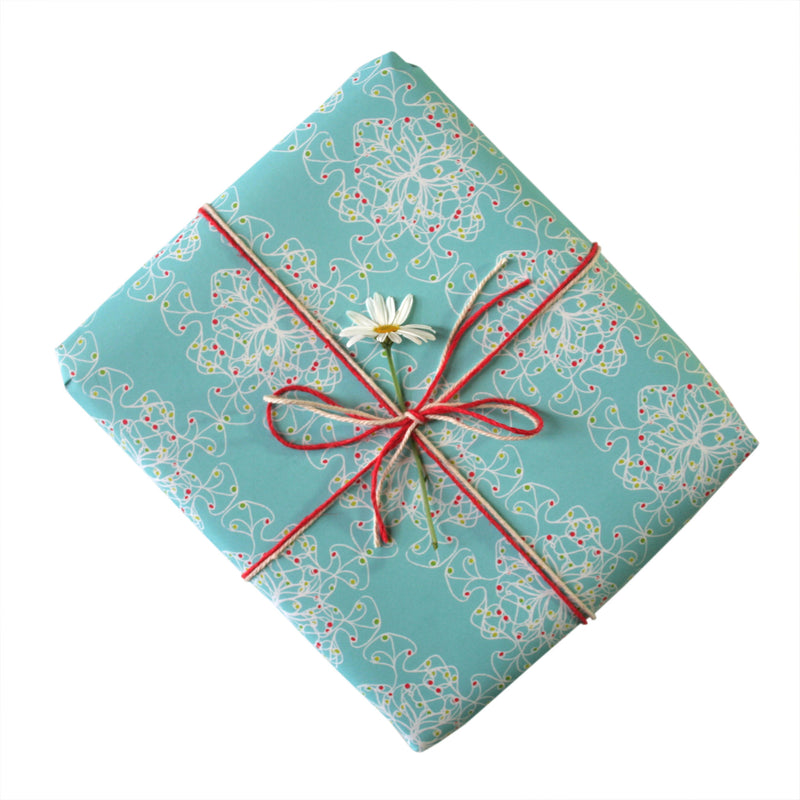 Jewel Squiggles Gift Wrapping Paper