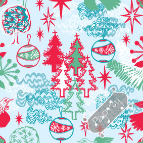NZ Christmas Story Gift Wrapping Paper