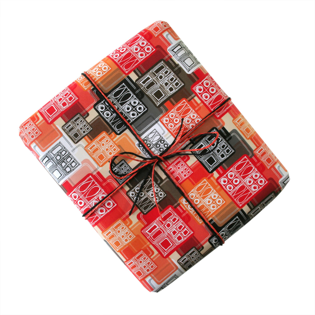 MidCenturyMod Gift Wrapping Paper