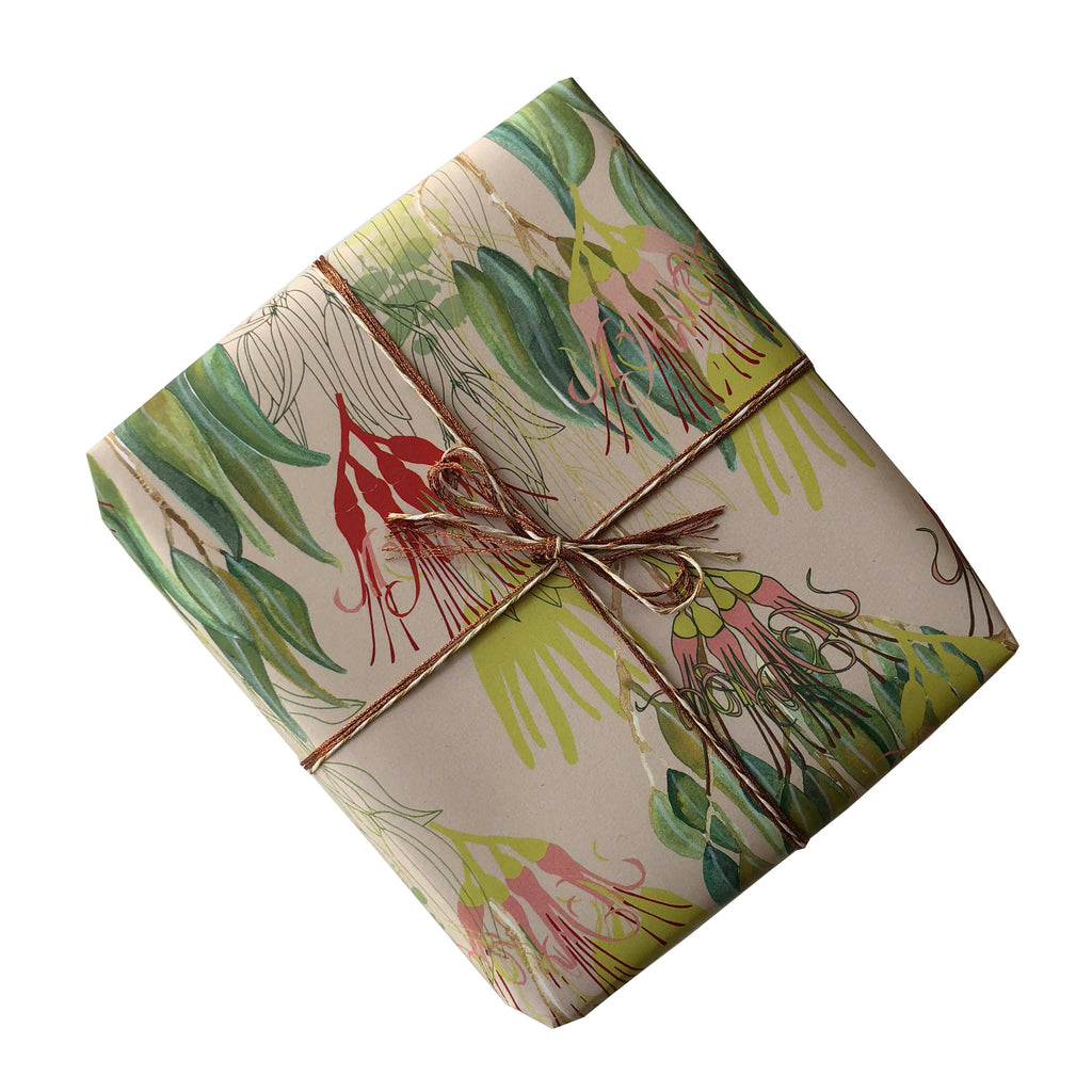 Bush Mistletoe Gift Wrapping Paper