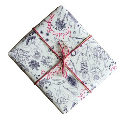 Australian Botanicals Gift Wrapping Paper