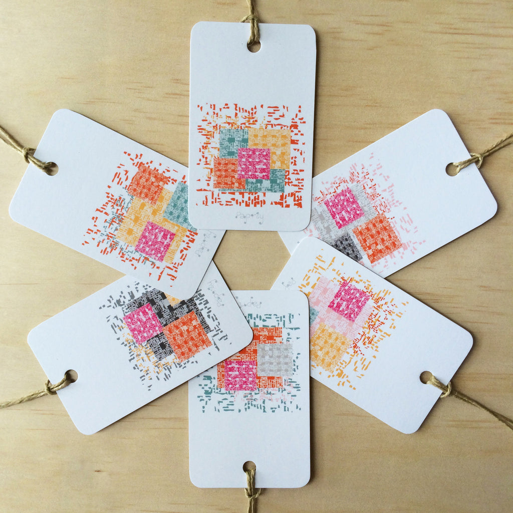 Newscheck 6 Gift Tags