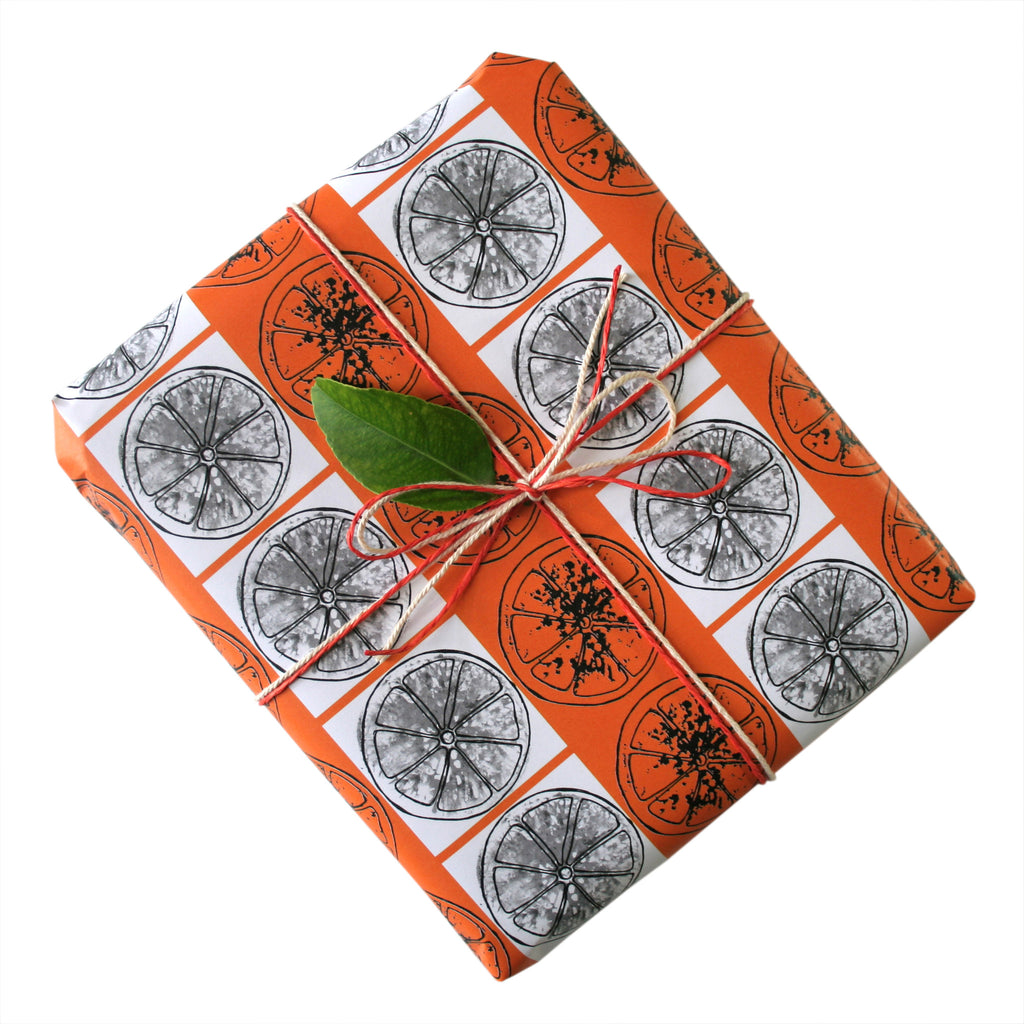 Oranges Gift Wrapping Paper