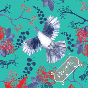 Christmas Dove Gift Wrapping Paper
