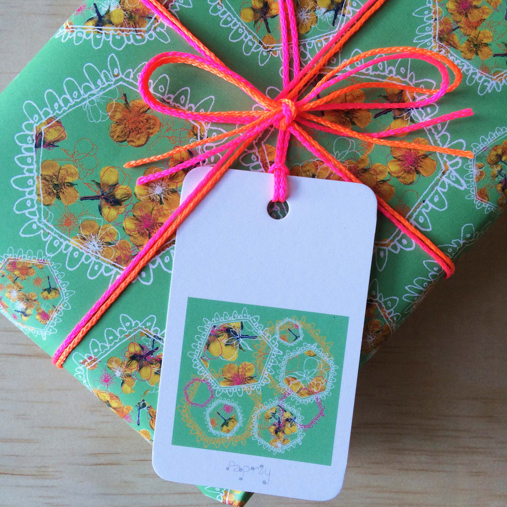 Polyfloral 6 Gift Tags