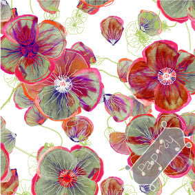 Poppy Patch Gift Wrapping Paper