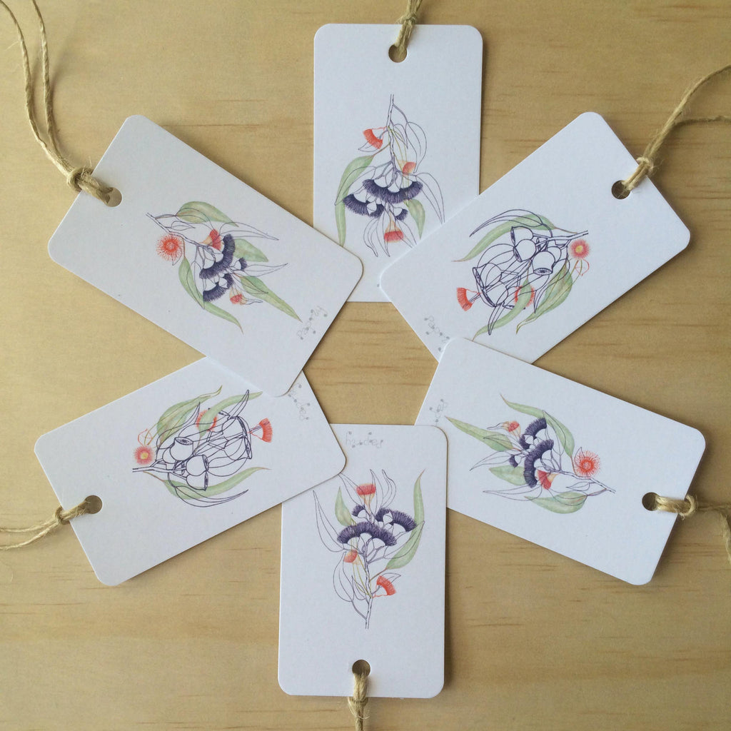 Silver Princess 6 Gift Tags