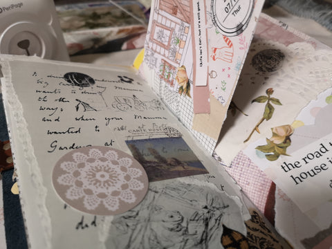 Junk Journals using PeriPage