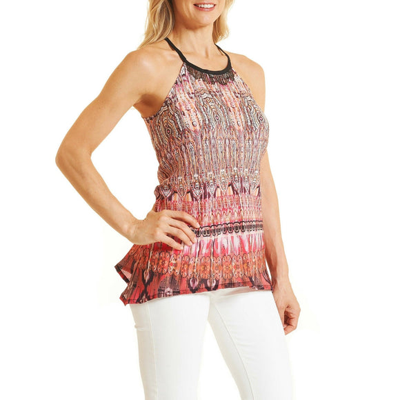 Robert Graham Multi Margo Top