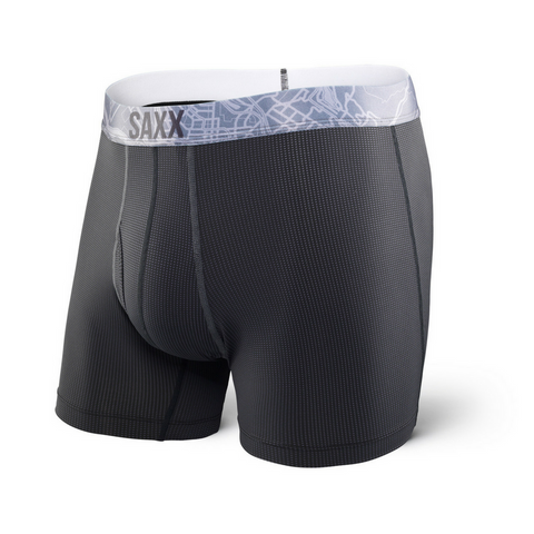 Quest 2.0 Boxer - Black/ Dark Charcoal