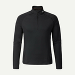 KJUS - 2nd Skin Halfzip - Black