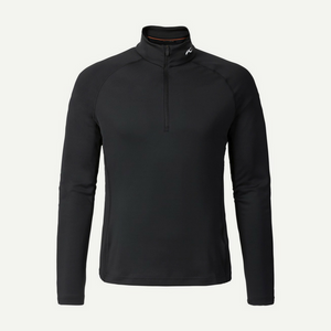 Kjus Blk Mens 2nd Skin Half Zip