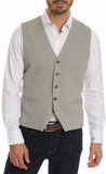 Robert Graham Grey Kerouac Vest