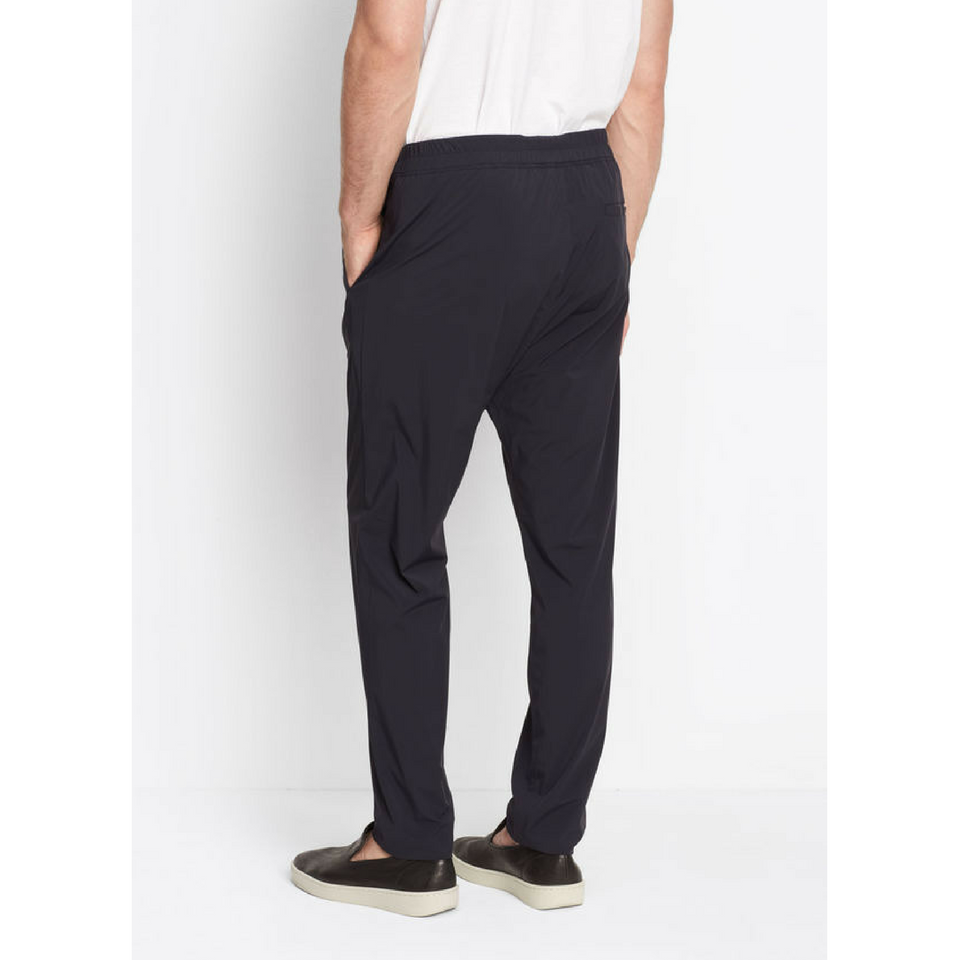 Vince Black Stretch Nylon Drop Rise Pant