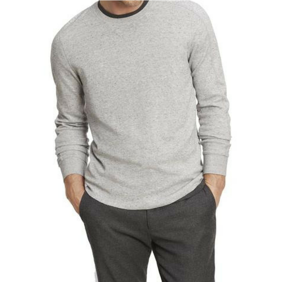 Vince - Crew Neck Sweater - Pearl
