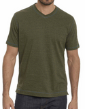 Traveler Tee - Heather Olive