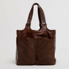 Bison Picnic Tote - Chocolate