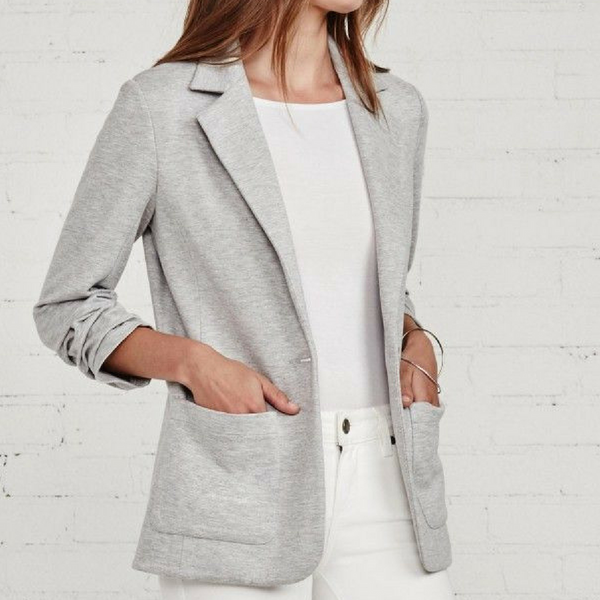 Bailey44 Jane Jacket - Heather Grey