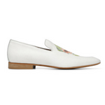 Load image into Gallery viewer, Donald J Pliner - Pazano -Mens Off White Canvas Upper Loafer
