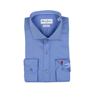 Robert Graham Blue Grosseto Dress Shirt