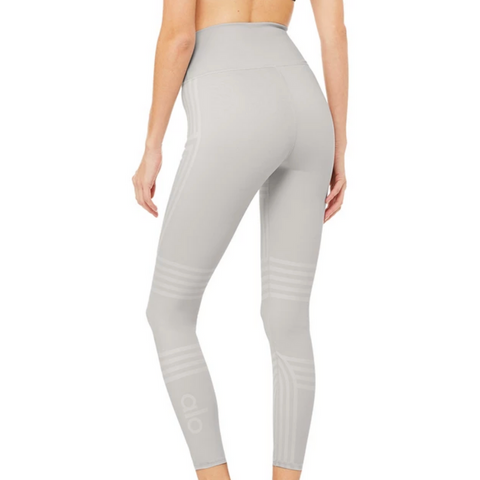 ALO 7/8 Dove Grey Channel Legging