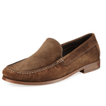 Load image into Gallery viewer, Donald J Pliner - Nate - Java Suede Loafer