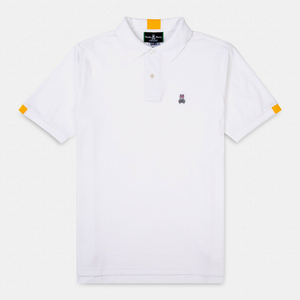 Sport Polo - White Neon Tipped