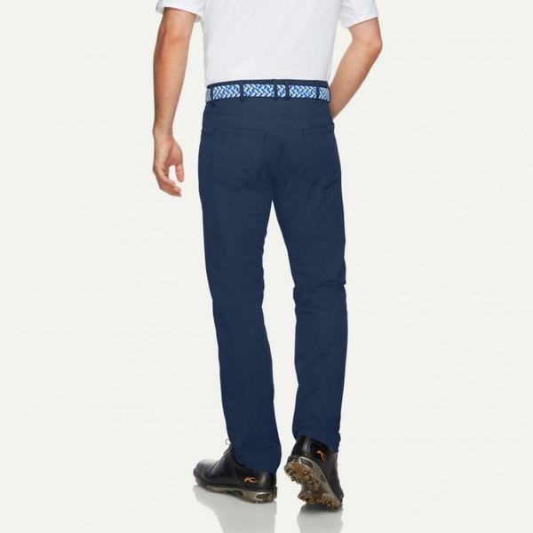 Men Ike 5 Pkt Pant - Atlanta Blue
